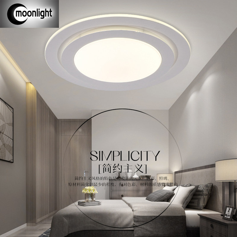 The New Modern Minimalist Living Room Ceiling Light Led Bedroom Study Hall Balcony Lamp Color