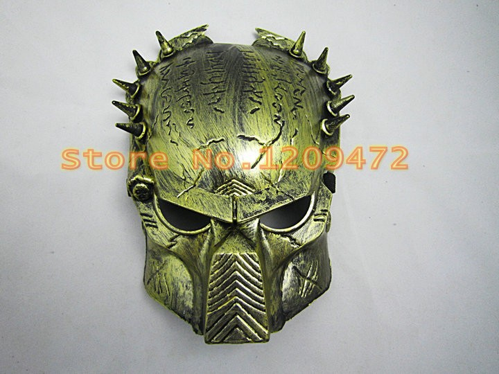 Army of Paintball Airsoft BB Gun Masks Iron Man Lone Wolf Spike Bullet Studs Party Horror Masks skull masks for free shipping(China (Mainland))