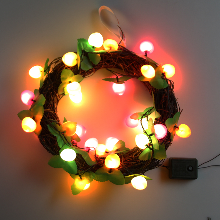 Free shipping 3m30leds Fruit shape String Light Garden For Wedding Lamp Decoration Christmas and Birthday Party Decoration light(China (Mainland))