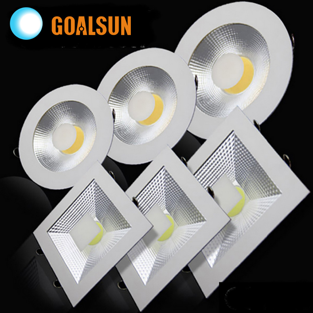 new Recessed led downlight cob 5W 10W 15W Non-dimmable LED Spot light led ceiling lamp AC 110V 220V free shipping<br><br>Aliexpress