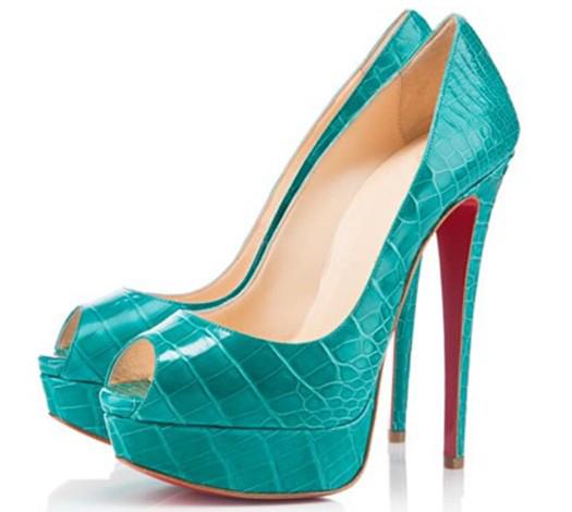 Women Party Calf Thin High Hees Platform Peep Toe Slip-on Summer Shoes Womens Chaussure Femme sapatos femininos Pumps<br><br>Aliexpress