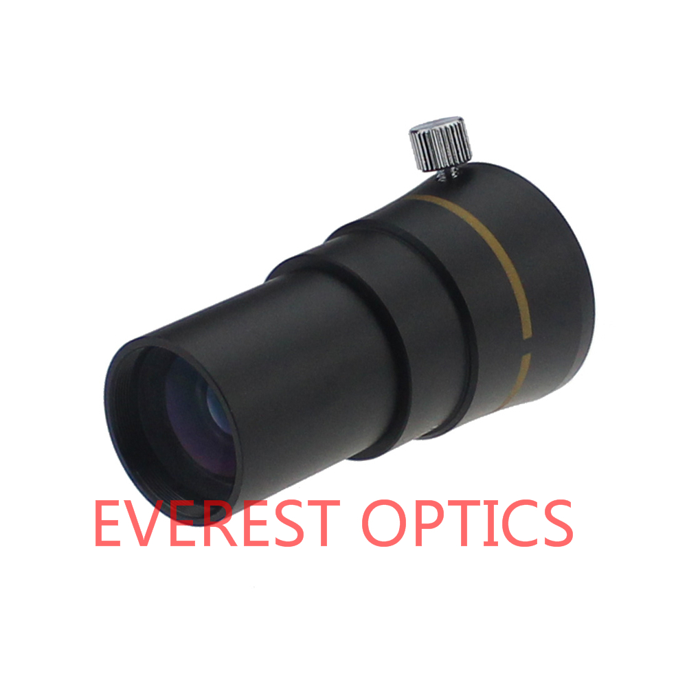 1.25Inch 2X 3-Elements Barlow  for Astronomical Telescope Lens Eyepiece Standard