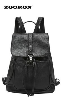 Черные женщины сумку пряжка шнурок Кожа PU является высокотехнологичным и высокосортным ...