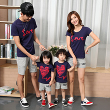 Family Matching Outfits Casual Family Clothing Mom/Mother and Daughter Father Son Clothes Clothing Family Clothing Sets SH45