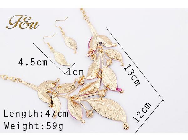 Колье-ошейник Necklace Earrings sets M13 jewelry