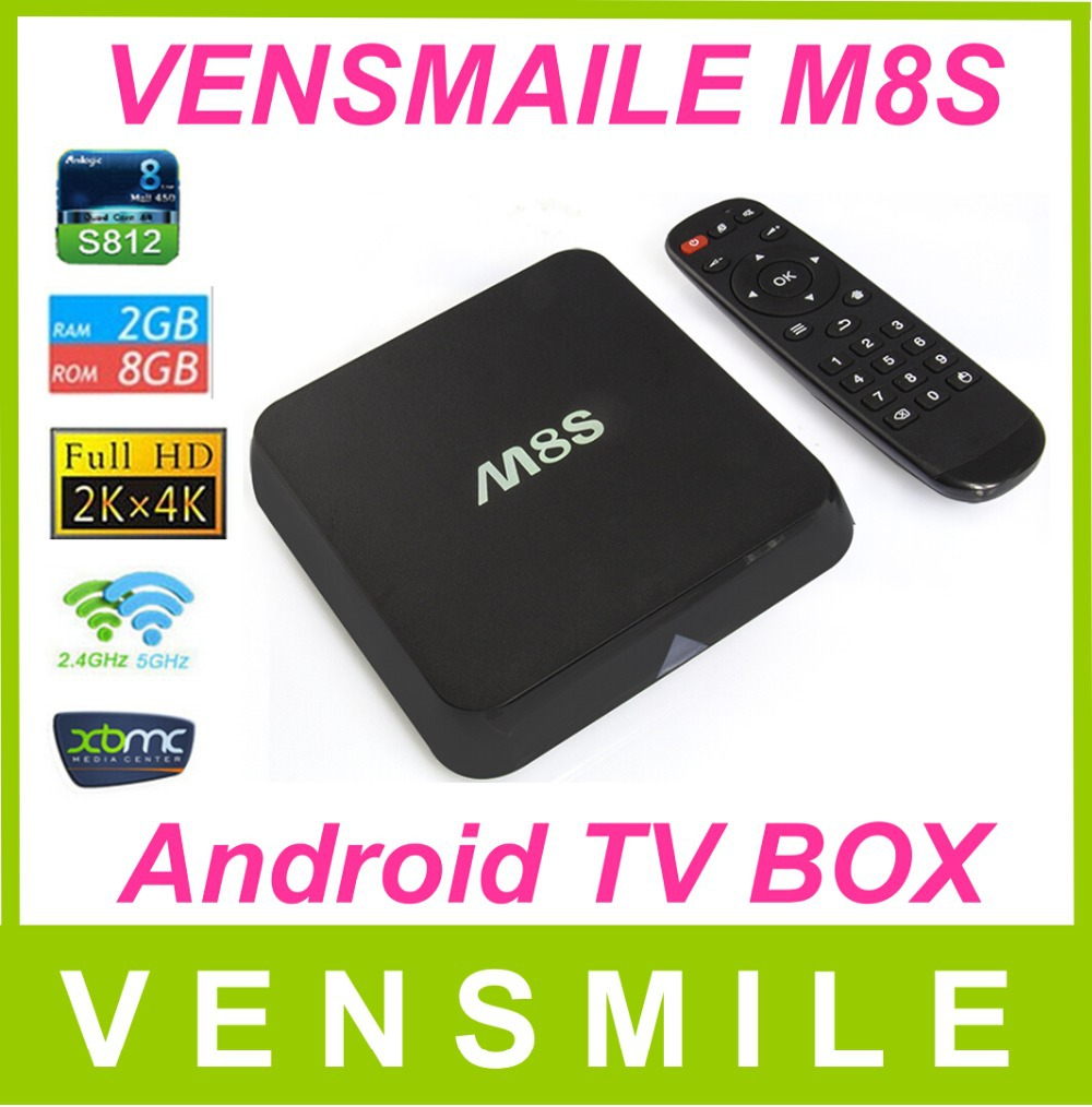 Vensmile MX Media Player Amlogic 8726 1G/8G better than cs918 android tv box full hd 1080p xbmc fully loaded can update to kodi