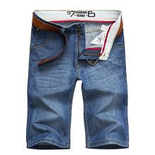 Summer Style Jeans Men Fashion Slim Fit Jeans Short Pants Brand Denim Pants 2016 New Designer Calca Jeans Masculina Plus Size