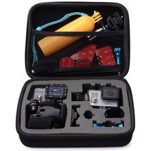 1pcs New Medium Portable Travel Storage Collection Bag Case for GoPro Hero 3 4 2 SJ4000 Sport Camera Accessories