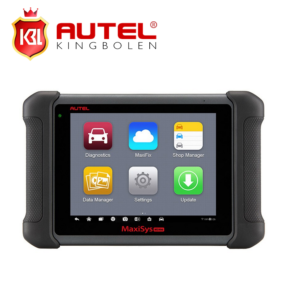 Free Shipping Autel MaxiSys MS906 Automotive Diagnostic System Full Package MS906 Powerful than MaxiDAS DS708 Update Online(China (Mainland))