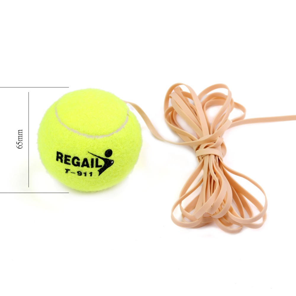 2015 Andux Tennis Ball Sports Tennis Training Balls Trainer Exercise Ball with Rubber Rope High quality Tennis Accessories