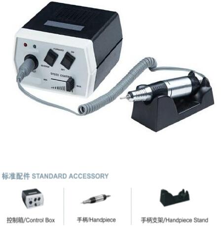 HOTSALE 30000RPM Black Nail Art Equipment Manicure Tools Pedicure Acrylics Grey Electric Nail Drill Pen Machine Set 110V&220V(China (Mainland))