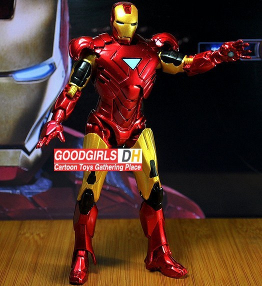 Hot Movie Iron Man 3 avengers Action Figure Superhero Mark 42 alliance 20cm Toy - Shenzhen China Good Service Best Price store