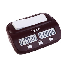 LEAP Professional Compact Digital Chess Clock Count Up Down Timer Electronic Board Game Bonus Competition Master Tournament free(China (Mainland))