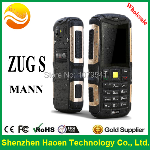 Wholesale Rugged Mobile Phone MANN ZUG S with IP68 Cheap Phone Wholesale(China (Mainland))