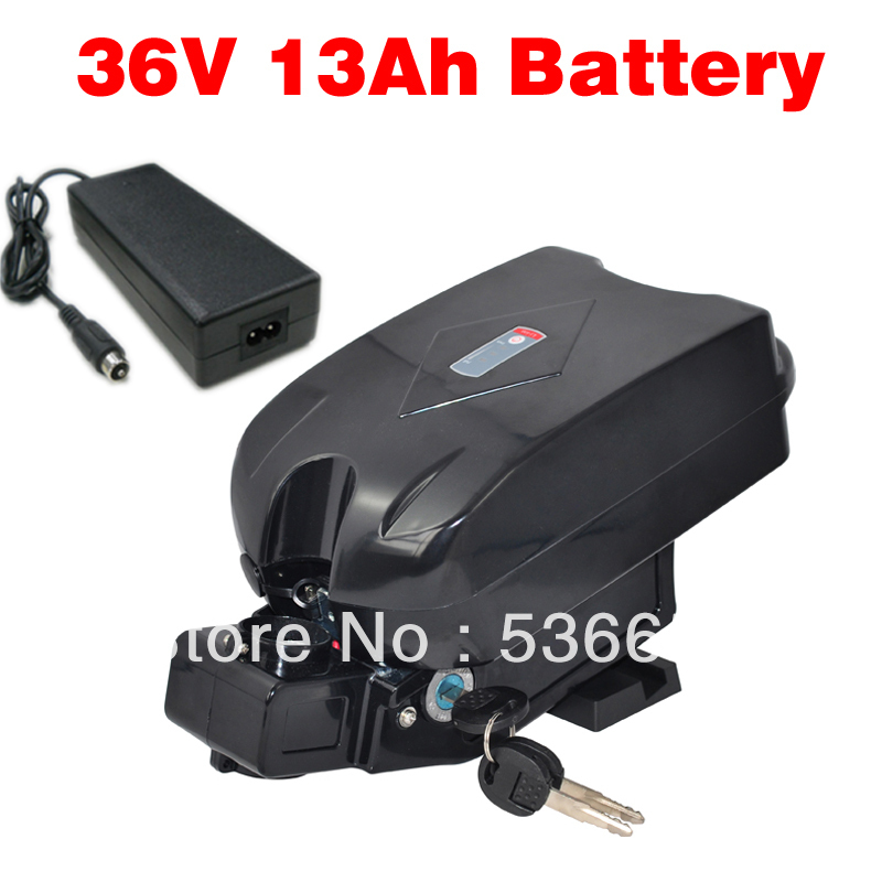 Electric Bicycle 36V 12Ah Battery 100% New Products 36V E-bike Lithium Battery(China (Mainland))