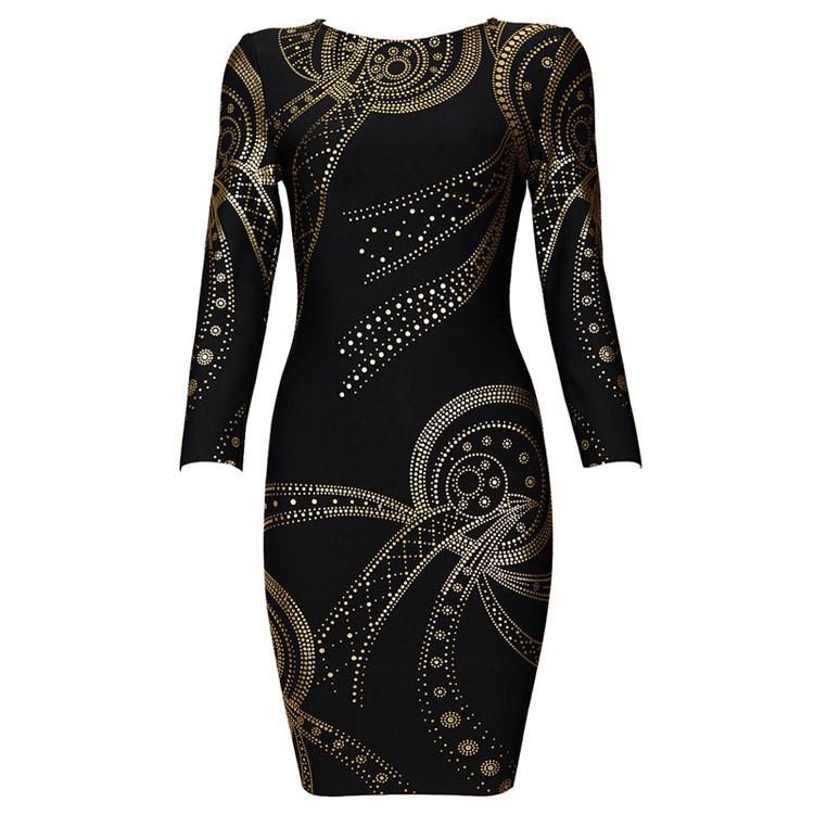 Claire Sunshine 2015 Summer Vestidos De Fiesta Women Foil Print Bandage Dress Sleeve Cocktail New Fashion Sexy Lady mini BodyconОдежда и ак�е��уары<br><br><br>Aliexpress
