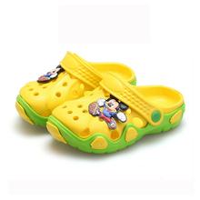 Estate scarpe per bambini ragazzi ragazze pantofole cute cartoon moda comoda bambini pantofole anti-slip ragazze pantofole scarpe da spiaggia(China (Mainland))