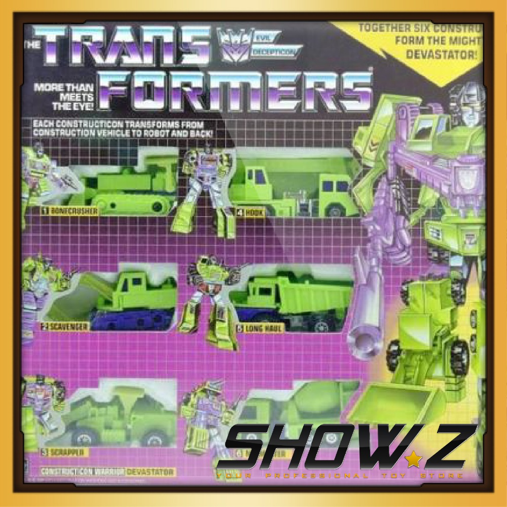 [Show.Z Store] KO Transformation G1 Devastator Re-issue Brand NEW COLLECTION MISB Toys & Gifts(China (Mainland))
