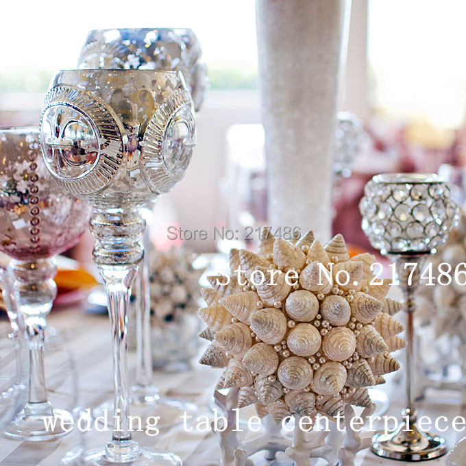 Factory Price use for wedding decoration Tea Light Holder / Wedding Favors crystal ball Candle Holder(China (Mainland))