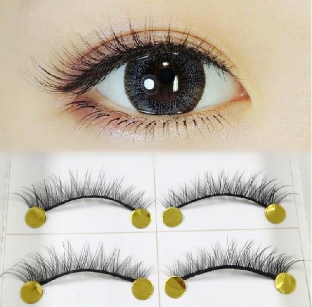 Cross Short Fale Eyelashes