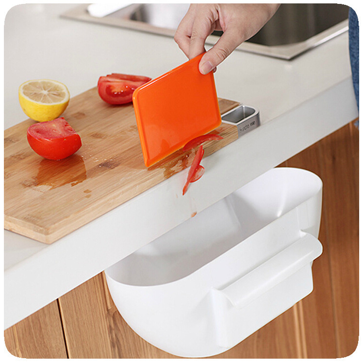 Free shipping Plastic storage box desktop garbage storage bin kitchen plastic container storage drawers creative kitchen(China (Mainland))
