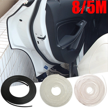 Hot Car Styling Door Edge Scratch Crash Strip Protection For Audi BMW VW Toyota Mazda Kia Hyundai Ford Accessories Car-styling(China (Mainland))