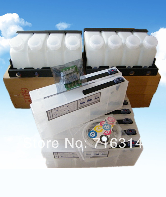 New products Bulk ink system with decoder for GS6000 plotter large format printer Ep GS6000 printer ciss ink system(China (Mainland))