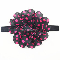 Pink, white, red.yellow,Gray chiffon flower headband for baby girl & toddler girl, baby head, birthday, easter 1pcs/lot