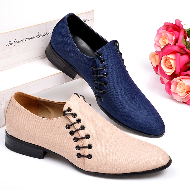 Здесь можно купить  Casual breathable male shoes pointed toe shoes male fashion shoes  Обувь