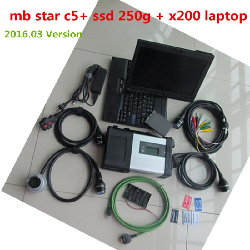 Максимальная ставка звезды Mb C5 + для Lenovo сенсорный ноутбук программного обеспечения 03/2016 звезды sd соединение с4 250 г ssd быстрая скорость
