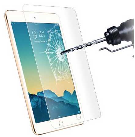Free shipping+Tracking code+retail package! Tempered Glass Screen Protector for ipad mini Solid screen protector for ipadmini(China (Mainland))