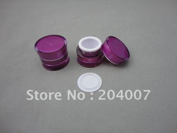 J092-5g purple nail jar