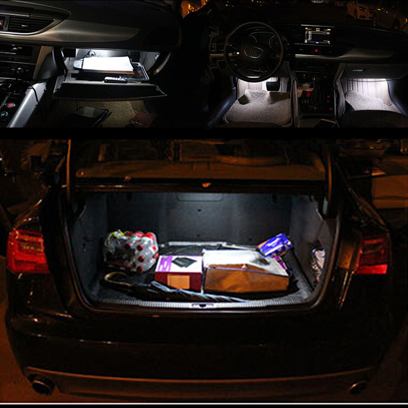 Car stying 17pc X canbus Error Free for Audi A4 S4 B8 sedan LED Interior Light Kit Package 2009 2010 2011 2012<br><br>Aliexpress
