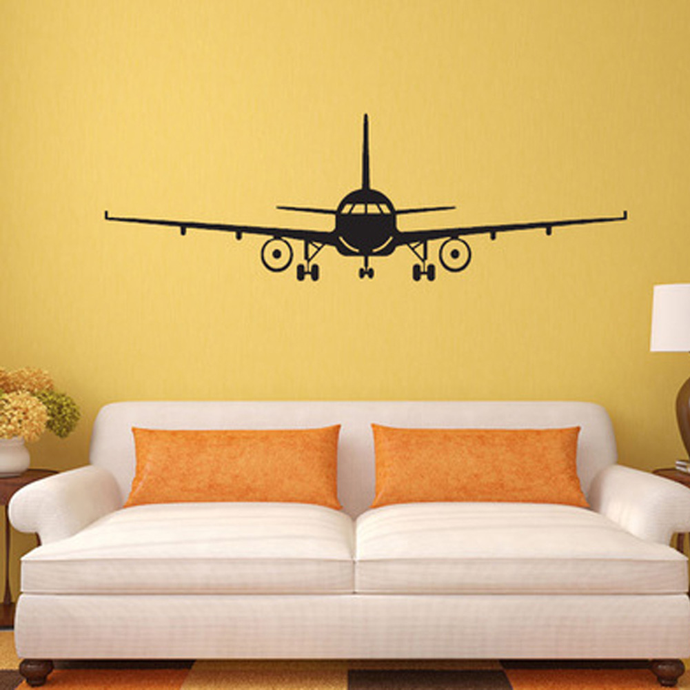 Wallpaper airplane promotion shop for promotional for Airplane wall mural