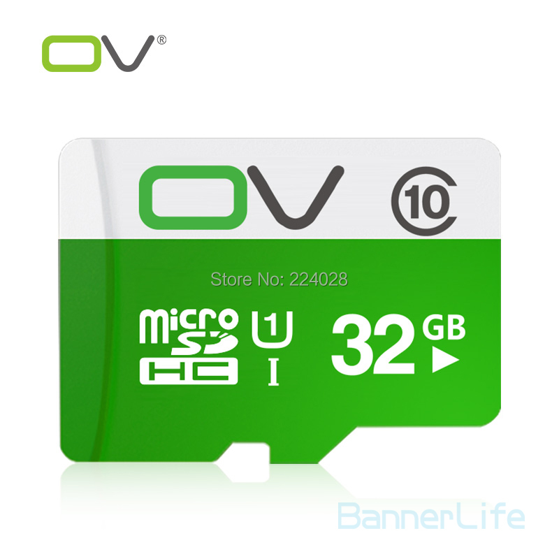 OV Memory Micro SD Card 32GB Class 10 UHS-1 TF Carte Microsd Flash Card SDCard for Mobile Phone Smartphone Tablet MP3 MP4 Camera<br><br>Aliexpress
