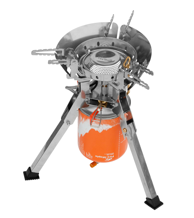 Фотография Fire-maple Outdoor Gas Burner Camping Stove Travel Cooking Stove FMS-T108
