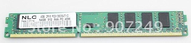 Wholesale & retail Desktop RAM memory module DDR3 2GBX2 PCS Kit 1066MHZ  + Free shipping
