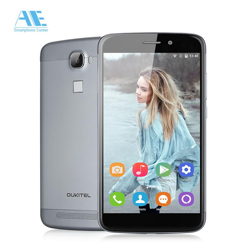 Original Oukitel U10 5.5inch MTK6753 Octa Core Cell Phone Touch ID Ram 3GB+Rom 16GB Smartphone,Android 5.1 2850mAh Mobile Phone(China (Mainland))