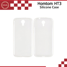 Buy Homtom HT3 Case Silicon TPU Cover New Original Protective Soft Back Case Cover Homtom HT3 Phone-2Colors Stock for $1.35 in AliExpress store