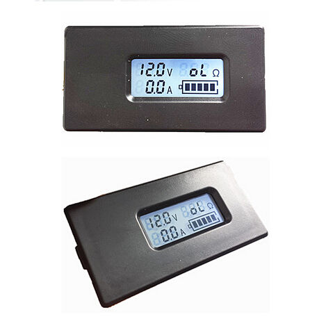 Lithium Li-ion battery tester LCD meter Voltage Current Capacity meter 18650 26650 Voltmeter ammeter(China (Mainland))