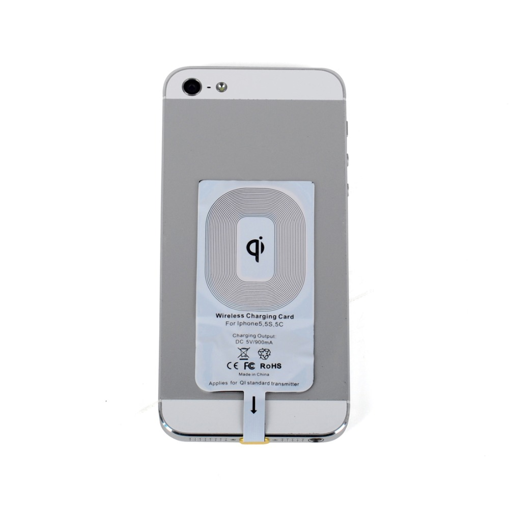 High Efficiency Qi Wireless Charger Receiver For Apple