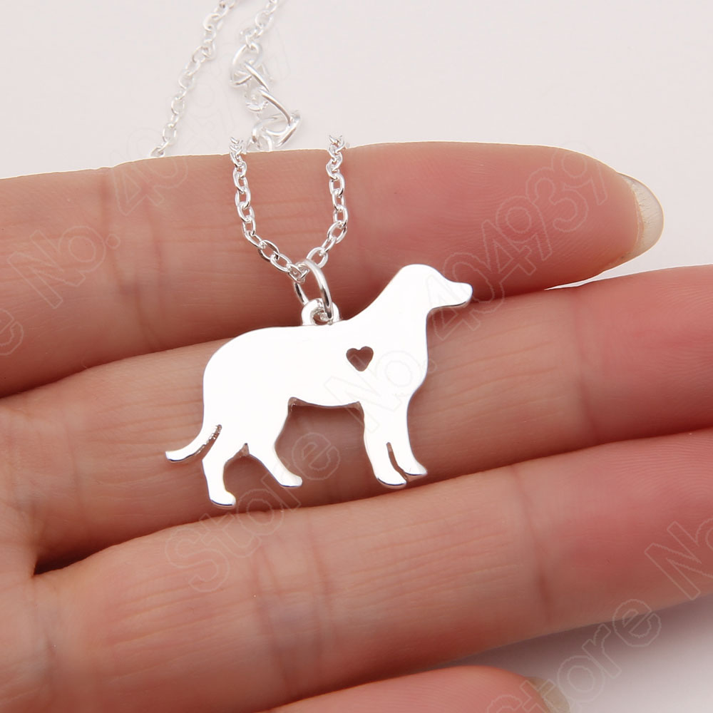 30pcs Dainty Labrador Necklace Retriever Pendant Christmas Memorial Gift Pet Puppy Necklaces &amp; Pendants Delicate Women Animal<br><br>Aliexpress