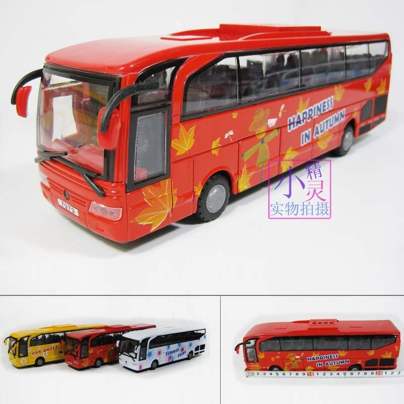Bus bus school bus car model alloy model WARRIOR cars plain cars(China (Mainland))