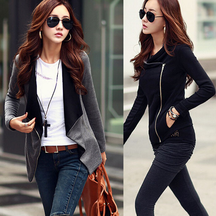 2015 new fashion winter women jacket long sleeve parka wadded plus size coat free shipping 506(China (Mainland))
