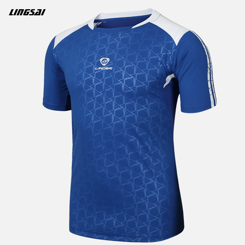 Summer style high quality T Shirt Men Brand Camisas Quick Dry Slim Fit T-shirts Men's Clothing Camisetas Soccer Jerseys 3XL(China (Mainland))