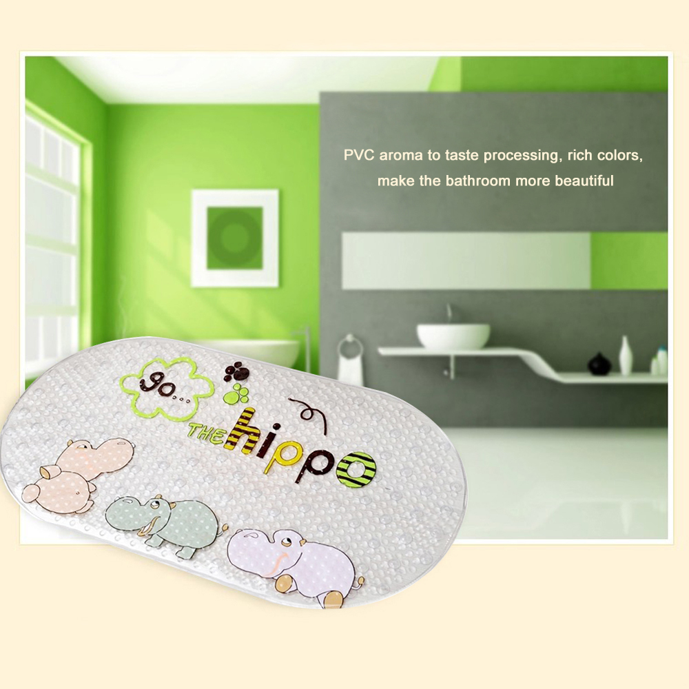 New Arrival Eco Friendly Bath Suction Cup Mat Waterproof