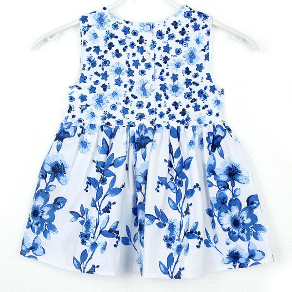 New Baby Girl Princess Sundress Kids Floral Sleeveless Party Vest Dress Hot Free Shipping<br><br>Aliexpress