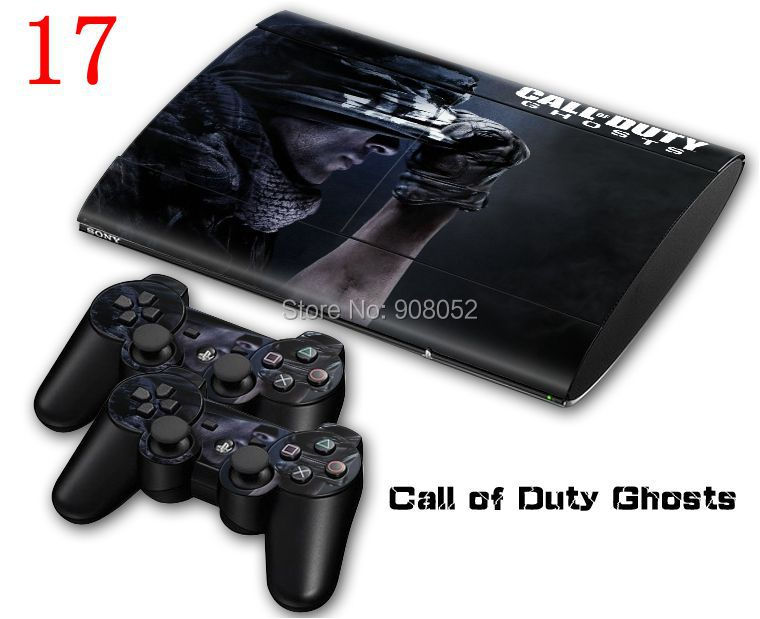 Sticker for PS3 Skin Stickers + 2Pcs Controller Skin Console Stickers for PS3 Protective Skin(China (Mainland))