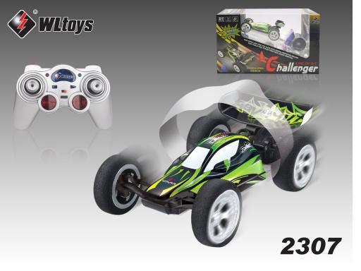 30km/hour 5 ch rc car mini rc buggy speed racing car Stunt Car WL2307 P3(China (Mainland))