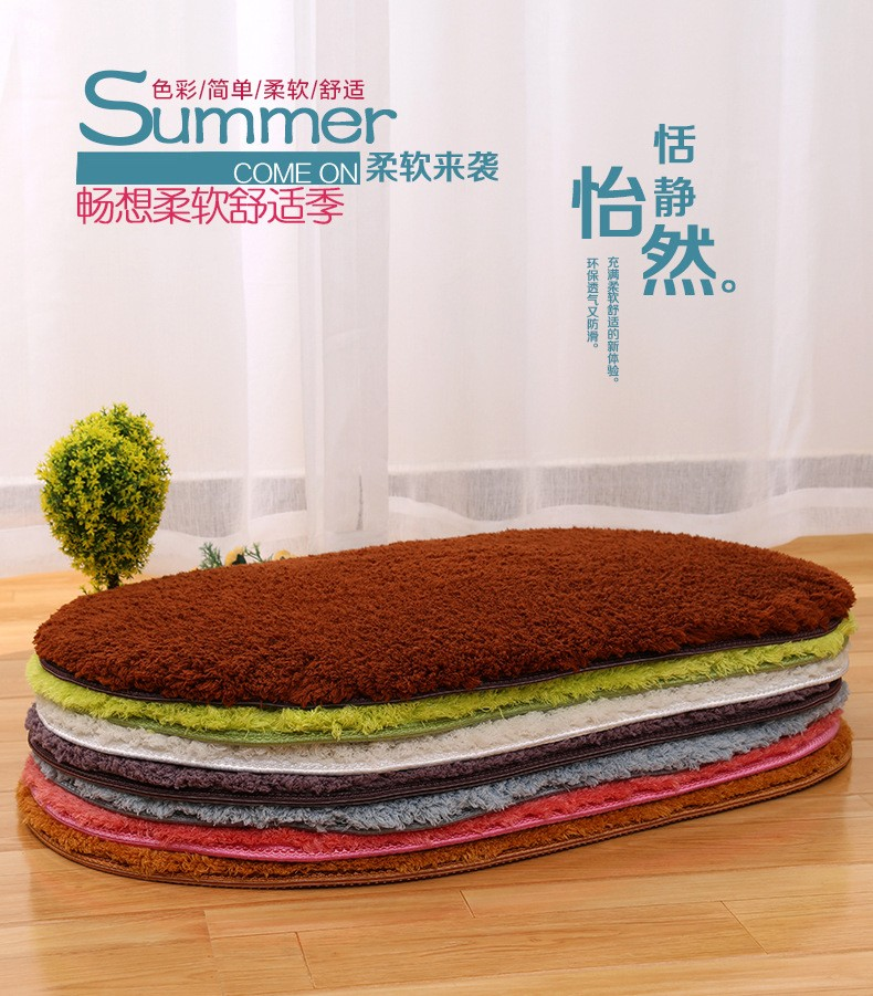 Brief Doormat Size 40x60/50x80/60x90cm Polyester Thickened Living ...